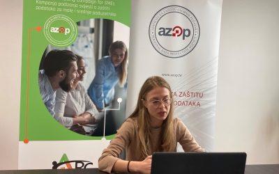 ARC online worskhop for SMEs from Bjelovar-Bilogora County