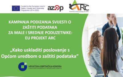 Besplatna GDPR online radionica za članove HOK-a, 29.6.2021.
