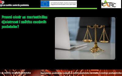 Zaštita osobnih podataka i usklađivanje s GDPR-om u marketingu